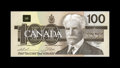 Canadian Currency: , BC-60aA $100 1988.. This embossed replacement is nicely inked.Choice Crisp Uncirculated.. From The Collection of Rich...
