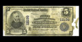 Holbrook, AZ - $5 1902 Plain Back Fr. 609 The First NB Ch. # 12198 A forever rare bank as only $340 in Large Size Ousta...