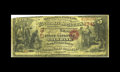 San Francisco, CA - $5 Original Fr. 1136 The First National Gold Bank Ch. # 1741 This is a nicely colored and rather br...