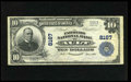 National Bank Notes:Colorado, Ault, CO - $10 1902 Plain Back Fr. 626 The Farmers NB Ch. # 8167. Amost significant Colorado discovery, as this piece, ...