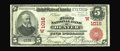 National Bank Notes:Colorado, Denver, CO - $5 1902 Red Seal Fr. 587 The First NB Ch. # (W)1016.This is a most attractive Red Seal which has been hidd...