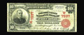 National Bank Notes:Colorado, Fort Collins, CO - $10 1902 Red Seal Fr. 613 The Poudre Valley NBCh. # (W)7837. An exciting new discovery, as this repr...