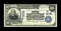 National Bank Notes:Colorado, Greeley, CO - $10 1902 Date Back Fr. 616 The First NB Ch. #(W)3178. A nice evenly circulated Date Back which is new to ...