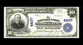National Bank Notes:Colorado, Greeley, CO - $10 1902 Plain Back Fr. 627 The Greeley Union NB Ch.# 4437. There is one small run of high grade large no...