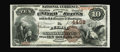 Pueblo, CO - $10 1882 Brown Back Fr. 484 The Pueblo NB Ch. # 4498 This bank was in existence for only eleven years and...