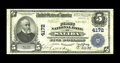 National Bank Notes:Colorado, Salida, CO - $5 1902 Plain Back Fr. 601 The First NB Ch. # 4172.While small notes from this Chaffee County bank abound,...