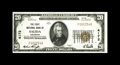 National Bank Notes:Colorado, Salida, CO - $20 1929 Ty. 1 The First NB Ch. # 4172. A high gradeexample which is listed as CU in the Kelly census. It ...