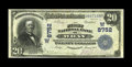 National Bank Notes:Colorado, Wray, CO - $20 1902 Plain Back Fr. 652 The First NB Ch. # (W)8752.This is one of just four large size notes known from ...