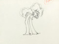 Animation Art:Production Drawing, Flowers and Trees Production Drawing Animation Art (Disney, 1932)....