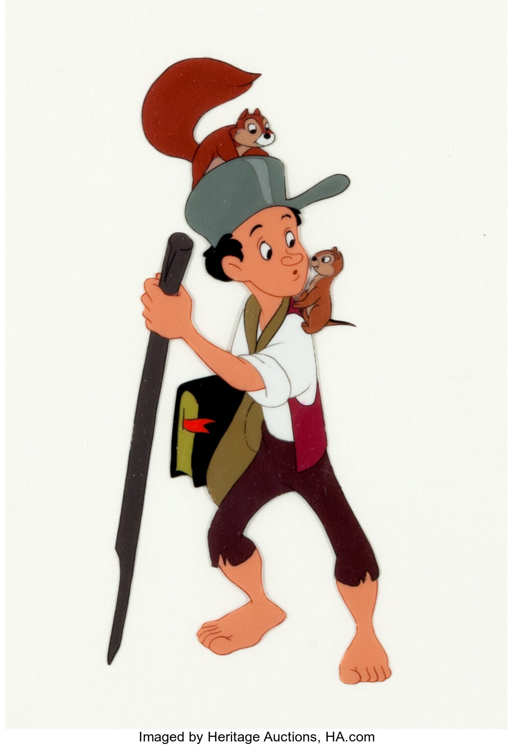 Melody Time The Legend Of Johnny Appleseed Model Cel Animation Art Lot 93506 Heritage Auctions