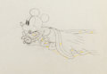 Animation Art:Production Drawing, Mickey's Steamroller Production Drawing Animation Art (WaltDisney, 1934)....