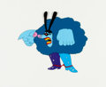Animation Art:Production Cel, Yellow Submarine Chief Blue Meanie Production Cel AnimationArt (United Artists/King Features, 1968)....