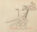 Animation Art:Production Drawing, The Plow Boy Horace Horsecollar Production Drawing AnimationArt (Walt Disney, 1929)....