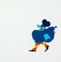 Animation Art:Production Cel, Yellow Submarine Army and Chief Blue Meanie Production CelAnimation Art Group (UA/King Features Syndicate, 1968).... (Total:2 Original Art)