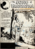"Original Comic Art:Panel Pages, Alex Blum Classics Illustrated #57 Complete 44-Page Story""The Song of Hiawatha"" Original Art (Gilberton, 1949)...."