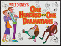 "Movie Posters:Animation, 101 Dalmatians (Walt Disney Productions, R-1976). British Quad(30.75"" X 41""). Animation.. ..."