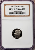 Proof Roosevelt Dimes: , 1995-S 10C Silver PR70 Ultra Cameo NGC. NGC Census: (0). PCGSPopulation (101). Numismedia Wsl. Price for problem free NGC...