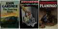 Books:Mystery & Detective Fiction, John Gardner. Group of Three First Edition Books, One Signed.Various, 1971-1983. Bullfight is signed. Very good...(Total: 3 Items)