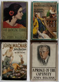 Books:Fiction, John Buchan. Group of Four First Edition Books. Various, 1922-1933.Very good.... (Total: 4 Items)