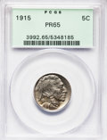 Proof Buffalo Nickels, 1915 5C PR65 PCGS....