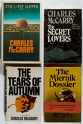 Books:Mystery & Detective Fiction, Charles McCarry. Group of Four First Edition Books. Various, 1973-1983. Very good or better condition.... (Total: 4 Items)