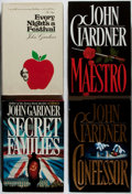 Books:Mystery & Detective Fiction, John Gardner. Group of Four First Edition Books, Two Inscribed.Various, 1972-1995. Maestro and Confessor... (Total:4 Items)