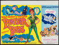 """Movie Posters:Animation, Peter Pan / Charley and the Angel Combo (Walt Disney Productions, R-1973). British Quad (30"""" X 40""""). Animation.. ..."""