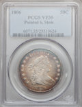 Early Half Dollars, 1806 50C Pointed 6, Stem VF35 PCGS. O-116, R.3....