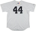 Baseball Collectibles:Uniforms, Reggie Jackson Signed New York Yankees Jersey. ...