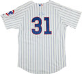 Baseball Collectibles:Uniforms, Greg Maddux Signed Chicago Cubs Jersey. ...