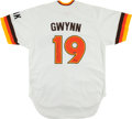 Baseball Collectibles:Uniforms, Tony Gwynn Signed San Diego Padres M&N Jersey. ...