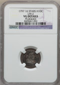 Early Half Dimes: , 1797 H10C 16 Stars -- Plugged -- NGC Details. VG. LM-2. PCGSPopulation (6/55). Numismedia Wsl. Price ...
