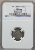 Early Half Dimes: , 1796 H10C LIKERTY -- Scratches -- NGC Details. AG. LM-1. PCGSPopulation (0/35). Numismedia Wsl. Price...