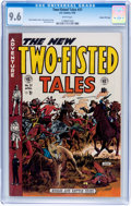 Golden Age (1938-1955):War, Two-Fisted Tales #37 Gaines File pedigree 8/12 (EC, 1954) CGC NM+9.6 White pages....