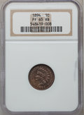 Proof Indian Cents: , 1894 1C PR65 Red and Brown NGC. NGC Census: (39/11). PCGSPopulation (23/0). Mintage: 2,632. Numismedia Wsl. Price forprob...