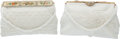Luxury Accessories:Bags, Carry of France Set of Two White Beaded Antique Evening Bags. ...(Total: 2 Items)