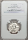 Standing Liberty Quarters, 1927-S 25C -- Improperly Cleaned -- NGC Details. AU....