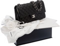 Luxury Accessories:Bags, Chanel 2012 Bergdorf Goodman Special Edition Black Lambskin LeatherClassic Double Flap Bag. ...