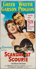"Movie Posters:Drama, Scandal at Scourie (MGM, 1953). Three Sheet (41"" X 79""). Drama.. ..."
