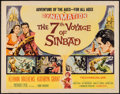 """Movie Posters:Fantasy, The 7th Voyage of Sinbad (Columbia, 1958). Half Sheet (22"""" X 28"""")Style A. Fantasy.. ..."""