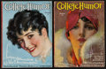 Movie Posters:Miscellaneous, College Humor Magazine (Collegiate World Publishing, Jan., and Feb., 1929). College Humor Magazines (2) (Multiple Pages) (8.... (Total: 2 Items)