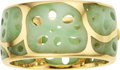 Estate Jewelry:Bracelets, Jadeite Jade, Gold Bracelet, Angela Cummings for Tiffany & Co.....