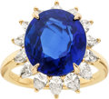 Estate Jewelry:Rings, Sapphire, Diamond, Gold Ring, Tiffany & Co.. ...
