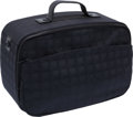 Luxury Accessories:Travel/Trunks, Chanel Black Nylon and Leather Zip-Around Overnight Bag. ...