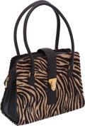 Luxury Accessories:Bags, Manolo Blahnik Pony Hair Tiger Tote Bag. ...