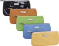 Luxury Accessories:Accessories, Set of Five; Lambertson Truex Leather Cosmetic Cases. ... (Total: 5)