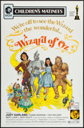 "Movie Posters:Fantasy, The Wizard of Oz (MGM, R-1972). One Sheet (27"" X 41""). Fantasy....."
