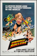 "Movie Posters:Bad Girl, Unholy Rollers (American International, 1972). One Sheet (27"" X41""). Bad Girl.. ..."