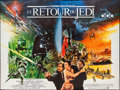 "Movie Posters:Science Fiction, Return of the Jedi (20th Century Fox, 1983). French Double Grande(59"" X 79""). Science Fiction.. ..."