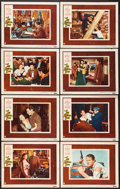 """Movie Posters:Western, The San Francisco Story (Warner Brothers, 1952). Lobby Card Set of 8 (11"""" X 14""""). Western.. ... (Total: 8 Items)"""